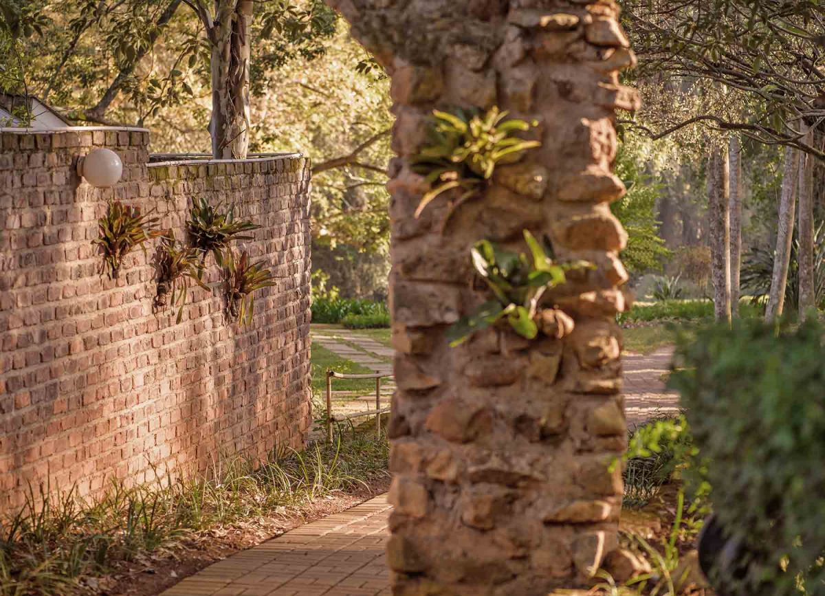 Garden at White River Manor