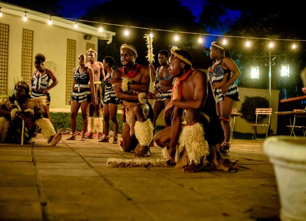 zulu dancing at White River Manor South Africa