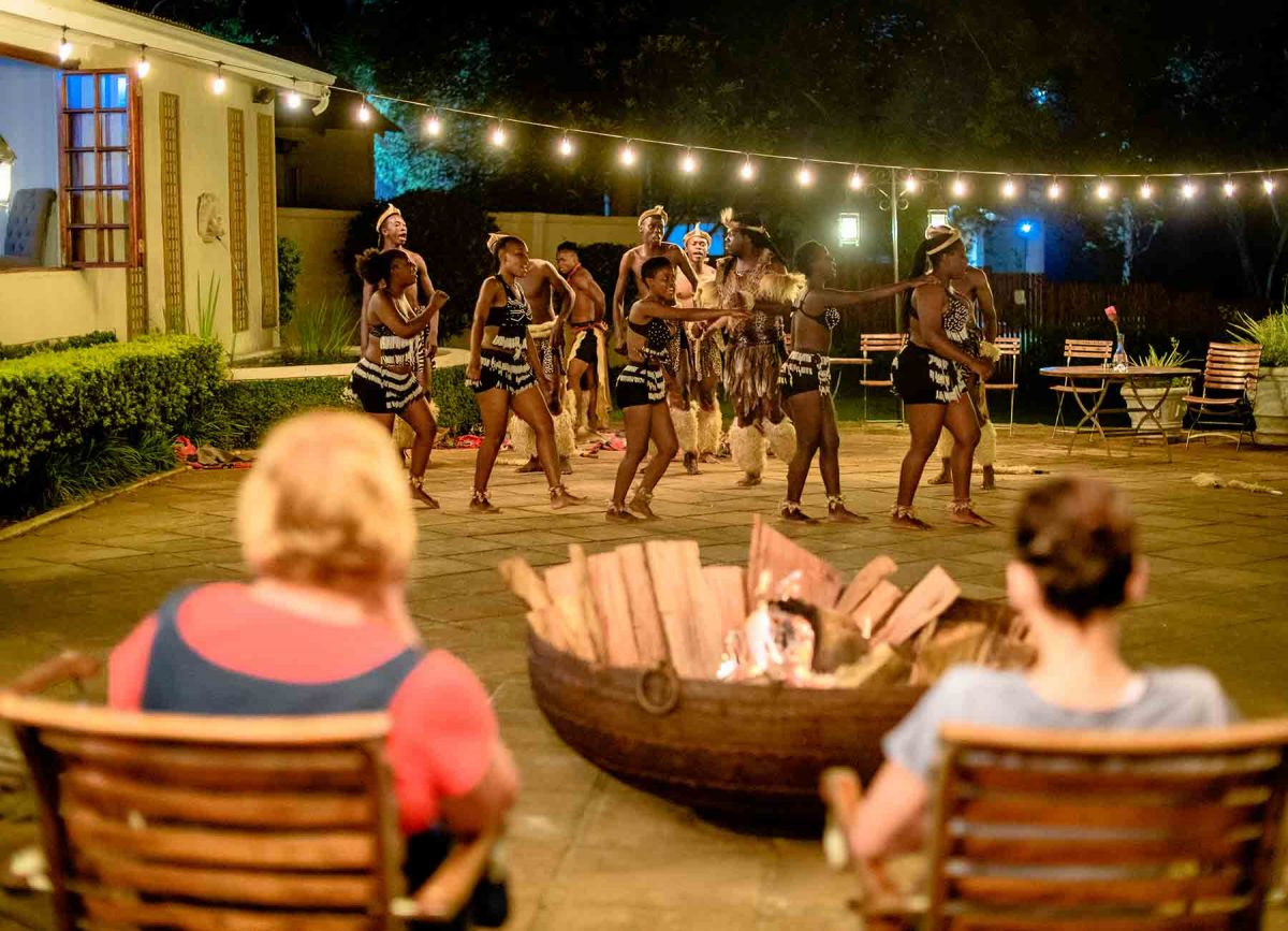 nighttime activities at White River Manor South Africa