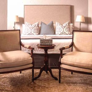 Private Standard Room chairs