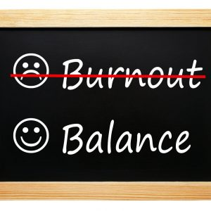 burnout and balance white river