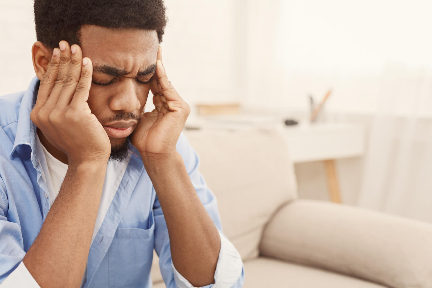 Physical symptoms of high-functioning anxiety