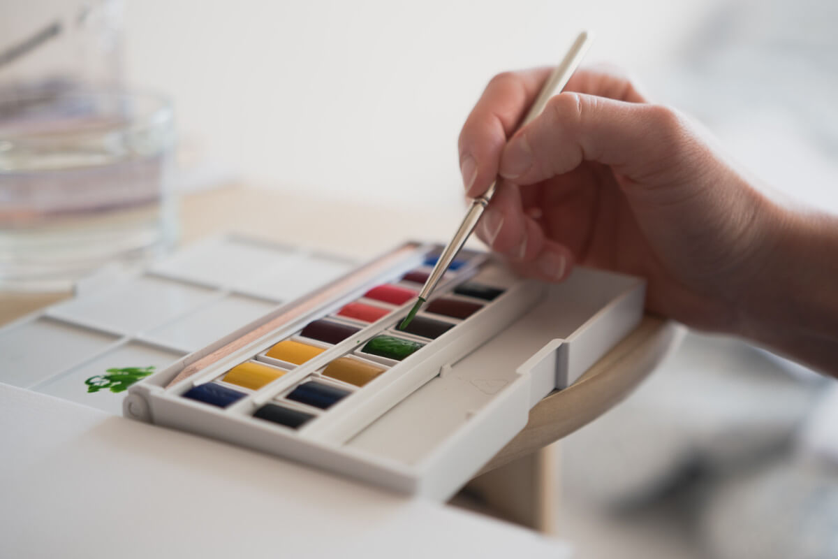 painter anxiety relief