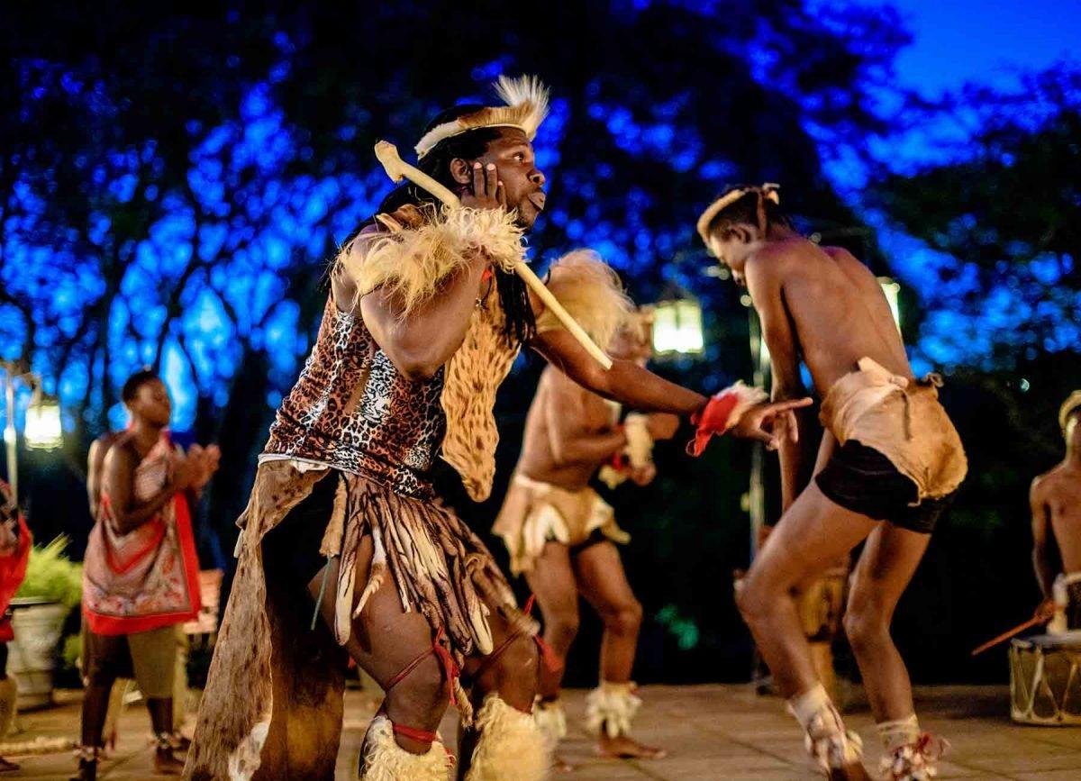 tribal dancing at white river