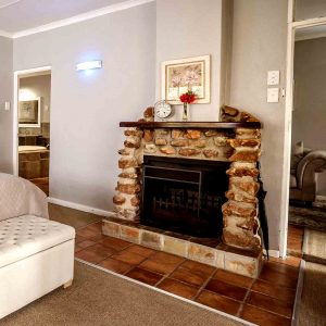 VIP Suite - Fireplace
